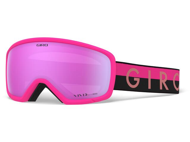 Giro Ringo Masque, black/pink throwback/vivid pink